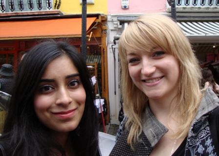 Shoppen samen met Nadia, stagiair bij CBC Radio Canada
