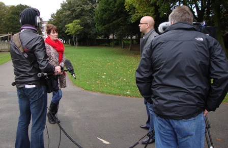 Interview met Debbie Caine in Croxteth Park