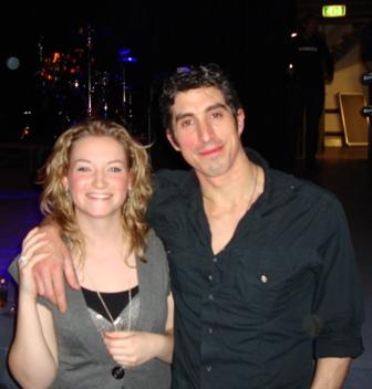 Andy Graham & ik in januari in The Mezz Breda