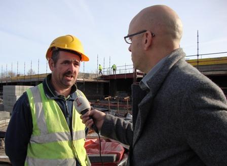 Radio interview met Gerry Kitterick