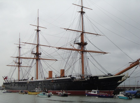 The HMS Warrior