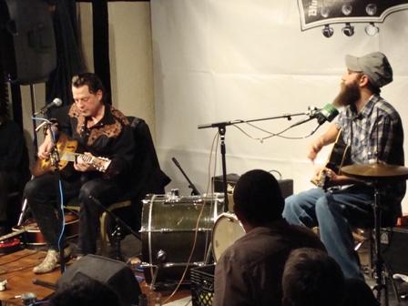 Ian Siegal en Ben Prestage