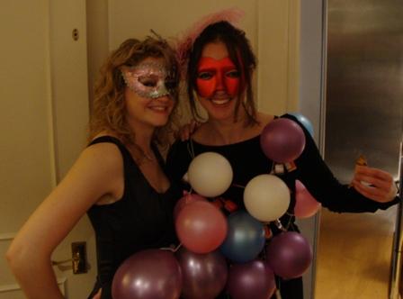 Samen met 'Party Girl' Sophie