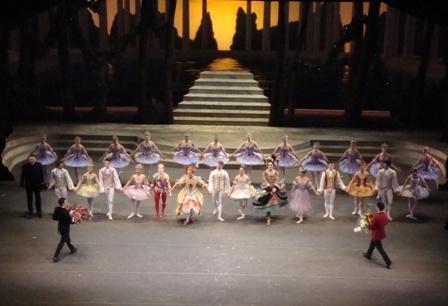 The cast van Cinderella na de show