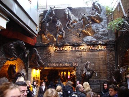 The Horse Tunnel Market in Camden Market