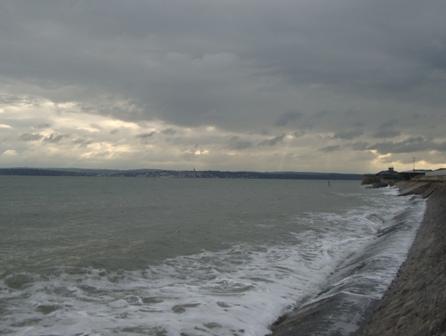 Ook door het slechte weer heen kan Portsmouth erg mooi zijn