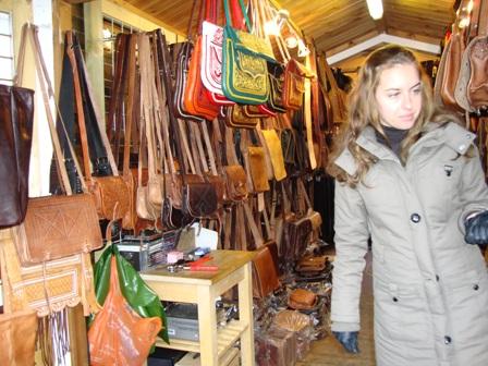 In een van de vele shops in Camden Market