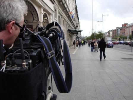 Filmen op O'Connell Street