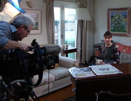 Opzetten in het huis van Sophia Millington-Ward, een Iers-Nederlandse onderzoeker met een duidelijk uitleg over de situatie in Ierland nu
