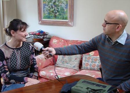 Radio interview met Sophia Millington-Ward