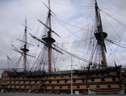 The HMS Victory, oude Royal Navy glorie